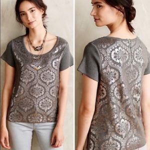 Anthropologie Moth Pullover